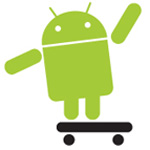 Android Droid icon logo button