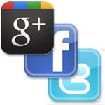 Google+、Facebook、twitterを情報ソースとリアクションのユーザーベースで比較する