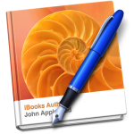 ibook author apple logo thumbnail icon button