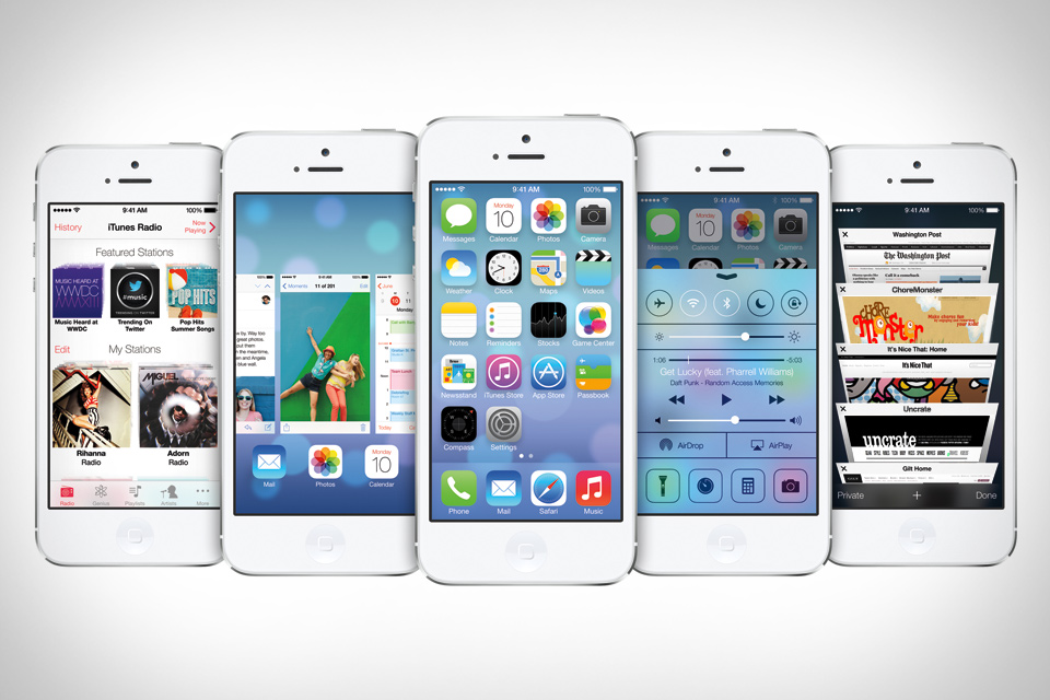 iOS 7のSafariはフラットデザインでこんなにもクールだぜ!