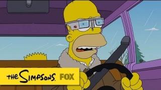 【動画】遂にGoogle Glassがアニメ『シンプソンズ』のエピソード『Specs And The City』に登場