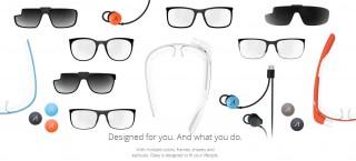 Google Glassに2つのシェードと4つのフレーム『Titanium Collection』が新登場 – ついに度入りレンズにも対応