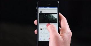 Facebookがフィード内で動画の自動再生を開始